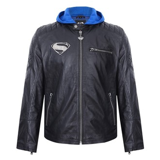 leather jacket Superman - BLACK - NNM, NNM