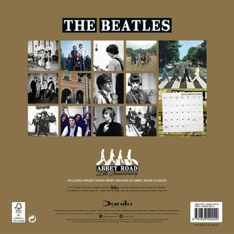 Calendar for the year 2020 - THE BEATLES - 103-2019