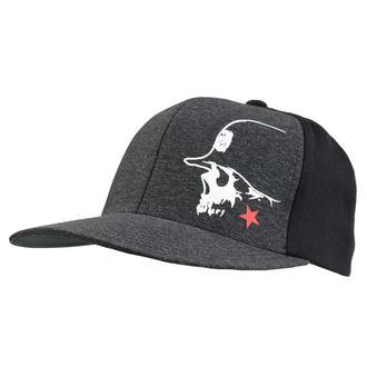 Cap METAL MULISHA - LIGHT BLK, METAL MULISHA