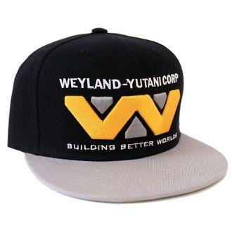 Cap ALIEN - WEYLAND-YUTANI CORP - BLACK / GREY - LEGEND, LEGEND, Alien - Vetřelec