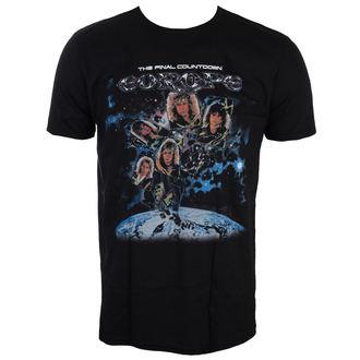 t-shirt metal men's Europe - FINAL COUNTDOWN - LIVE NATION, LIVE NATION, Europe