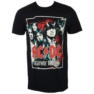 t-shirt metal men's AC-DC - CARTOON - LIVE NATION, LIVE NATION, AC-DC