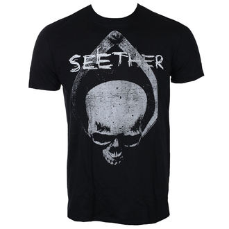 t-shirt metal men's Seether - SKULL - LIVE NATION - PE15284TSB