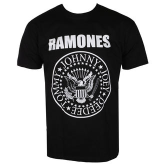 t-shirt metal men's Ramones - CREST - LIVE NATION, LIVE NATION, Ramones