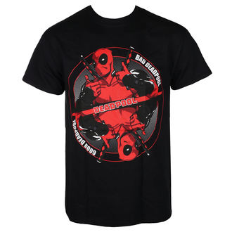 film t-shirt men's Deadpool - BAD GOOD - LIVE NATION, LIVE NATION