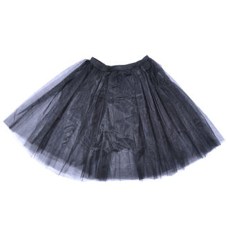 Skirt Women's Poizen Industries - COR MIDI TUTU - BLACK, POIZEN INDUSTRIES