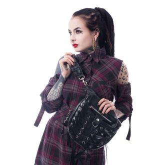 Handbag (bag) POIZEN INDUSTRIES - CORSET - BLACK, POIZEN INDUSTRIES