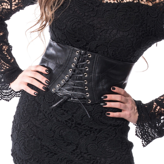 Corset (belt) VIXXSIN - BLACK, VIXXSIN