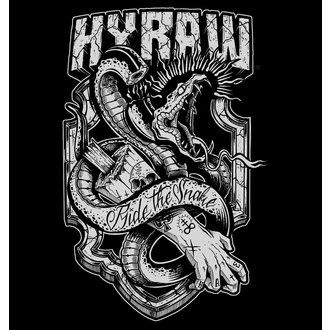 t-shirt hardcore men's - RIDE THE SNAKE - HYRAW