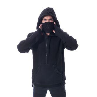 Men's hoodie HEARTLESS - CROSSOVER - BLACK, HEARTLESS