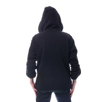 Men's hoodie HEARTLESS - CROSSOVER - BLACK, HEARTLESS