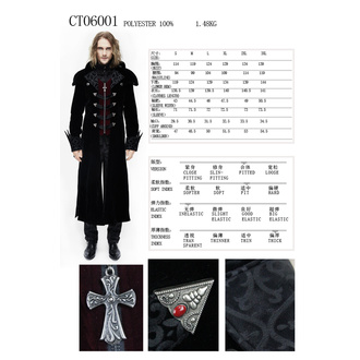 Men's coat DEVIL FASHION - CT06001