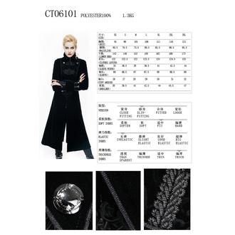 Women's coat DEVIL FASHION - CT06101
