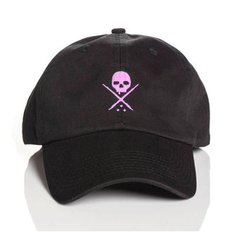 Cap SULLEN - POP BADGE - BLACK / PINK, SULLEN