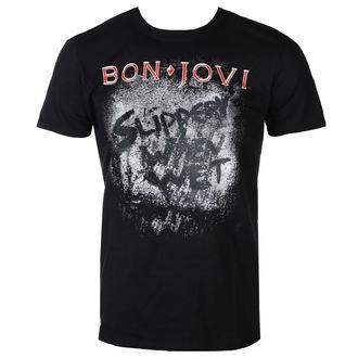 t-shirt metal men's Bon Jovi - SLIPPERY WHEN WET ALBUM - PLASTIC HEAD, PLASTIC HEAD, Bon Jovi