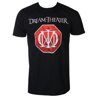 t-shirt metal men's Dream Theater - RED LOGO - PLASTIC HEAD - RTDTI006