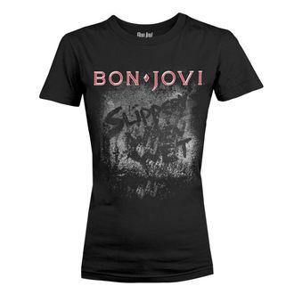 t-shirt metal women's Bon Jovi - SLIPPERY WHEN WET ALBUM - PLASTIC HEAD, PLASTIC HEAD, Bon Jovi