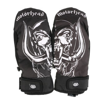 Gloves (mittens) MOTÖRHEAD - Mountain Mitt - Black, 686, Motörhead