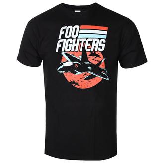 t-shirt metal men's Foo Fighters - JETS BLACK - PLASTIC HEAD - RTFFI1047