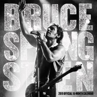 Calendar for year 2019 BRUCE SPRINGSTEEN, NNM, Bruce Springsteen