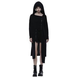 hoodie women's - Black Chaos - PUNK RAVE