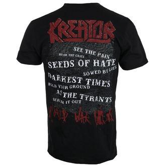 t-shirt metal men's Kreator - World war now - NUCLEAR BLAST, NUCLEAR BLAST, Kreator