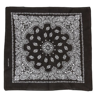 Kerchief ROCKABELLA - BAND ONE BANDANA - BLACK, ROCKABELLA