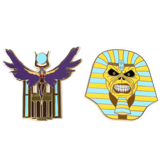 Tack Iron Maiden - Legacy of the Beast - Trooper Pharaoh & Aset, Iron Maiden