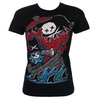 t-shirt hardcore women's - Phantom Voyage - Akumu Ink, Akumu Ink