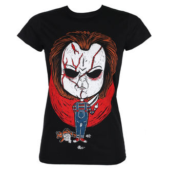 t-shirt hardcore women's - CHUCKY - GRIMM DESIGNS, GRIMM DESIGNS