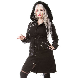 coat women's Poizen Industries - DARE - BLACK - POI421