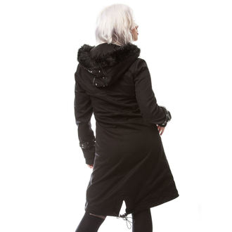 coat women's Poizen Industries - DARE - BLACK, POIZEN INDUSTRIES