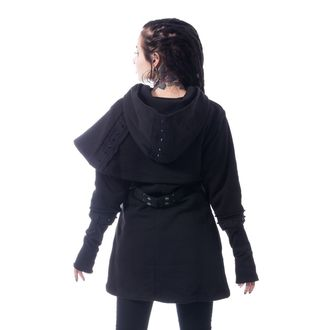 hoodie women's - DARK CAPE - CHEMICAL BLACK, CHEMICAL BLACK