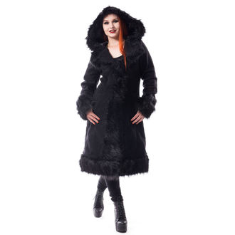 Women's coat Poizen Industries - DARK MASE - BLACK, POIZEN INDUSTRIES