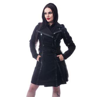 Women's coat CHEMICAL BLACK - DARK SILENCE - BLACK, CHEMICAL BLACK