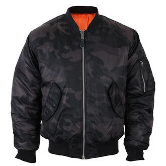 Men's jacket bomber (winter) BRANDIT - MA1 camo - 3159-darkcamo