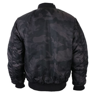 winter jacket - MA1 camo - BRANDIT
