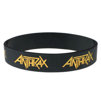 Rubber Bracelet Anthrax - ROCK OFF, ROCK OFF, Anthrax