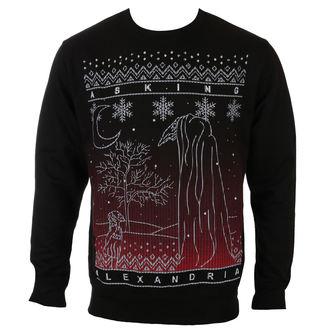 sweatshirt (no hood) men's Asking Alexandria - THE BLACK CHRISTMAS - PLASTIC HEAD, PLASTIC HEAD, Asking Alexandria