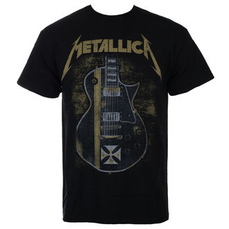 Metal T-Shirt men's Metallica - Hetfield Iron Cross - NNM - RTMTLTSBHET