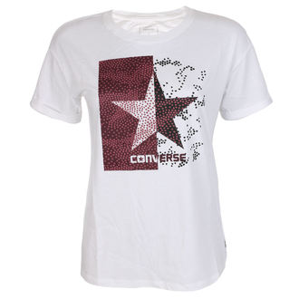 t-shirt street women's - Dot Camo Star Feasy - CONVERSE, CONVERSE
