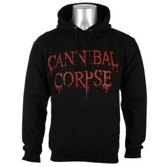 hoodie men's Cannibal Corpse - DRIPPING LOGO - PLASTIC HEAD - PH10421HSW