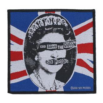 Patch Sex Pistols - God Save The Queen - RAZAMATAZ, RAZAMATAZ, Sex Pistols