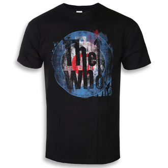 t-shirt metal men's Who - Target Texture - ROCK OFF, ROCK OFF, Who
