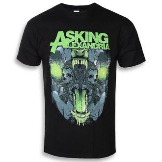 t-shirt metal men's Asking Alexandria - Teeth - ROCK OFF, ROCK OFF, Asking Alexandria