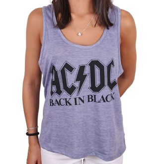 Top Women's AC / DC - BACK IN BLACK - LEGEND, LEGEND, AC-DC