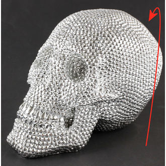 decoration Skull - Silver - 78/5744 - DAMAGED