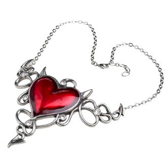 Necklace ALCHEMY GOTHIC - Devil Heart Genereux, ALCHEMY GOTHIC
