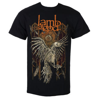 t-shirt metal men's Lamb of God - Crow - ROCK OFF, ROCK OFF, Lamb of God