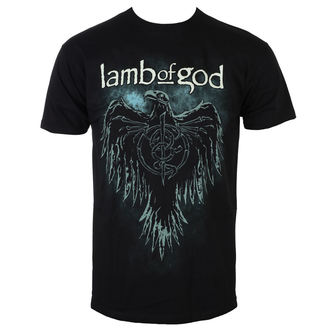 Men's T-shirt Lamb Of God - Phoenix - Black - ROCK OFF, ROCK OFF, Lamb of God